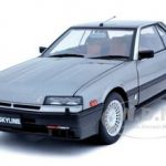 Nissan Skyline 2000 Turbo Intercooler RS-X (DR30) Metallic Grey 1/18 Diecast Car Model by Autoart