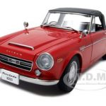 Datsun Fairlady 2000 SR311 Red 1/18 Diecast Model Car by Autoart