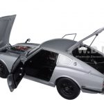 1969 Nissan Fairlady Z432 (PS30) Silver 1/18 Diecast Model Car by AutoArt