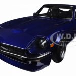 Nissan Wangan Midnight Devil Z Blue 1/18 Diecast Model Car by Autoart