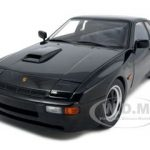 1980 Porsche 924 Carrera GT Black 1/18 Diecast Model Car by Autoart