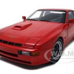 1980 Porsche 924 Carrera GT Guards Red 1/18 Diecast Model Car by Autoart
