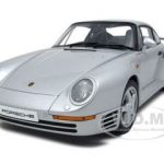 Porsche 959 Silver 1/18 Diecast Car Model by Autoart