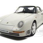 Porsche 959 White 1/18 Diecast Model Car by Autoart