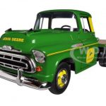 1957 Chevrolet Flatbed Truck John Deere 1/25 Diecast Model by Speccast