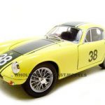 1960 Lotus Elite #38 Yellow 1/18 Diecast Car by Road Signature