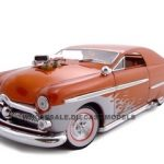 1949 Ford With 480 Blower Bronze 1/24 Diecast Car by Unique Replicas