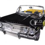 1960 Chevrolet Impala Black With Flames Custom 1/18 Diecast Model Car by Motormax