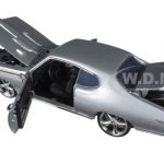 1969 Pontiac GTO Judge Silver Custom 1/18 Diecast Model Car by Motormax
