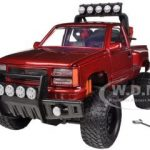 1992 GMC Sierra GT Pickup Truck Off Road Red 1/24 Diecast Model by Motormax