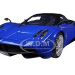 Pagani Huayra Blue 1/18 Diecast Car Model by Motormax