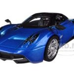 Pagani Huayra Blue 1/24 Diecast Car Model by Motormax