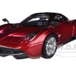 Pagani Huayra Red 1/24 Diecast Car Model by Motormax