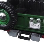 Toyota FJ40 Green 1/24 Diecast Model Car by Motormax