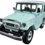 Toyota FJ40 Light Green 1/24 Diecast Model Car by Motormax