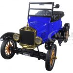 1925 Ford Model T Runabout Blue 1/24 Diecast Model Car by Motormax