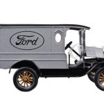 1925 Ford Model T Paddy Wagon Silver 1/24 Diecast Model Car by Motormax