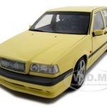 1995 Volvo 850 T-5R Cream Yellow 1/18 Diecast Model Car by Autoart
