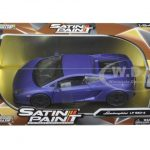Lamborghini Gallardo LP 560-4 Matt Purple 1/24 Diecast Model Car by Motormax
