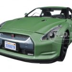 2008 Nissan GT-R R35 Matt Green 1/24 Diecast Model Car by Motormax