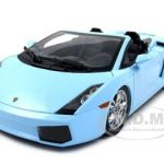 Lamborghini Gallardo Spyder Baby Blue 1/18 Diecast Car Model by Norev