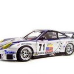 Porsche 911 (996) GT3 RSR 2005 Lemans Alex Job #71 1/18 Diecast Model Car by Autoart