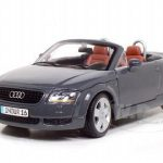 Audi TT Roadster Grey 1/18 Diecast Model Car by Maisto