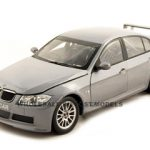 BMW 320Si WTCC Test Grey 1/18 Diecast Car Model by Guiloy