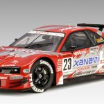 Nissan Skyline GT-R (R34) JGTC 2003 Round 8 Suzuka Version Xanavi #23 1/18 Diecast Car Model by Autoart