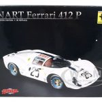 Ferrari 412 P NART #25 Limited to 412pc 1/18 Diecast Car Model by GMP