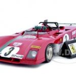 Ferrari 312P 312 P Targa Florio Winner #3 1/18 Diecast Car Model by GMP