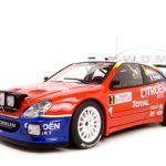 Citroen Xsara WRC 2004 Winner of Rally of Monte Carlo Night Race Version 1/18 Diecast Model Car by Autoart