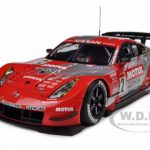 Motul Pitwork Nissan Z 2004 JGTC Team Champion Special Edition (Masami Kageyama) #22 With Driver Figure 1/18 Diecast Model Car by Autoart