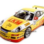Porsche 997 GT3 Cup 2007 Team Jebsen D.OYoung #55 1 of 2000 Made 1/18 Diecast Model Car by Autoart