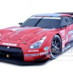 Nissan GT-R Super GT 2008 #23 Launch Version 1/18 Diecast Car Model by Autoart