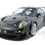 2009 Porsche 911 (997) GT3 RSR Plain Body Black Version 1/18 Diecast Car Model by Autoart