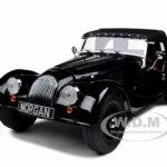 Morgan 4/4 Sports Black 2008 Edition 1/18 Diecast Model Car by Kyosho