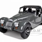 Morgan 4/4 Sports Grey 2008 Edition 1/18 Diecast Model Car by Kyosho
