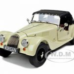 Morgan 4/4 Sports Cream 2008 Edition 1/18 Diecast Model Car by Kyosho