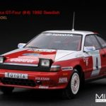 Toyota Celica GT-Four #4 1992 Swedish Rally Winner 1/43 Diecast Model Car by HPI Racing