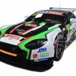 Aston Martin V12 Vantage Bathurst 12hour Endurance Race 2015 #97 A. Macdowall / D. OYoung / S. Mucke 1/18 Model Car by Autoart