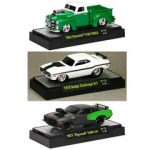 Ground Pounders 3 Cars Set Release 12 WITH CASES 1/64 Diecast Model Cars by M2 Machines
