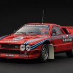 Lancia 037 1985 Rally Test Car Martini 1/43 Diecast Car Model by HPI