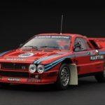 Lancia 037 1985 Rally Test Car Martini 1/43 Diecast Car Model by HPI