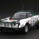 Lancia Stratos HF 1975 Rally Safari #3 S.Munari/L.Drews 1/43 Diecast Model Car by HPi Racing