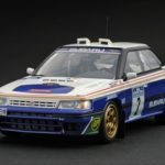 Subaru Legacy RS #2 1991 Manx F.Chatriot / M.Perin 1/43 Diecast Model Car by HPi Racing