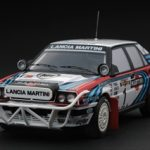 Lancia Delta HF Integrale 16V #1 1991 Rally Safari Team Martini J.Recalde/M.Christie 1/43 Diecast Model Car by HPi Racing
