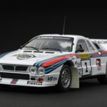 Lancia 037 #2 Rally 1000 Lakes 1983 1/43 Diecast Car Model by HPi Racing