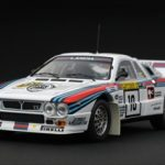 Lancia 037 #10 Rally 1000 Lakes 1984 1/43 Diecast Car Model by HPi Racing