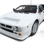 Lancia 037 Rally Presentation Car White 1/18 Diecast Model Car by Kyosho